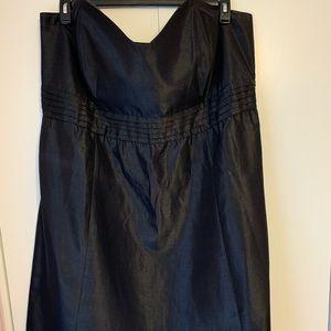 Lane Bryant size 28 - Strapless satin party dress